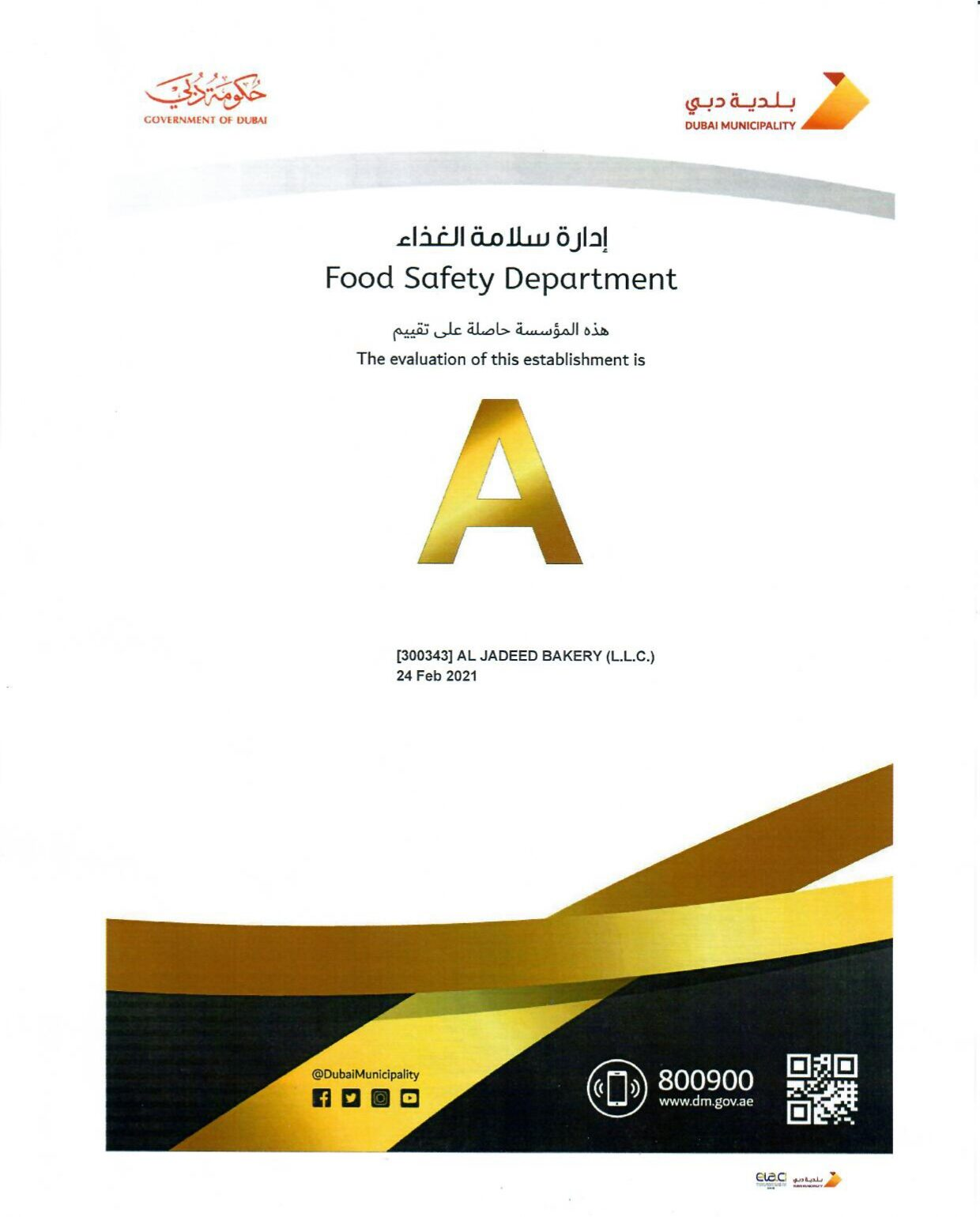 Highest Quality Standards and Food Safety Management Systems and Process